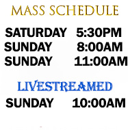 Catholic Church of Saint Mark Virginia Beach Regular Mass Schedule
