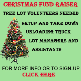 Christmas Fundraiser Tree Lot Volunteer Signup